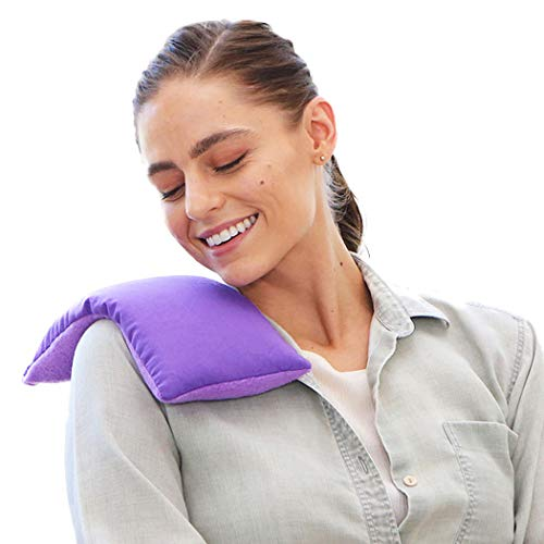 My Heating Pad- Hot Therapy Pack Microwavable Soothing Heat Therapy -Reusable Pain Relief (Purple) ()