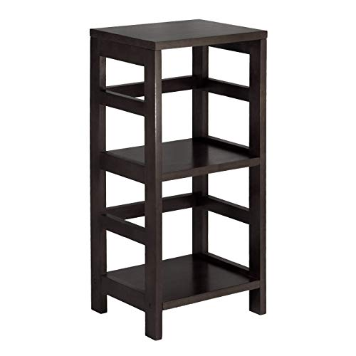 (Winsome Wood 92314 Leo Model Name Shelving, Tall, Espresso)