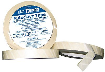 5 Rolls of Autoclave Tape 3/4'' 60YD Per Roll (300yd total) by DEFEND (Image #1)