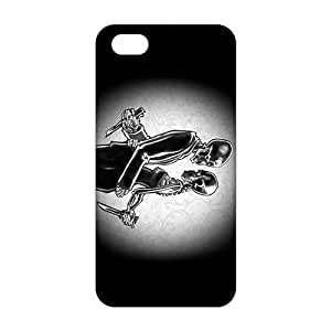 diy zhengCool-benz Skull murderer 3D Phone Case for Ipod Touch 5 5th /
