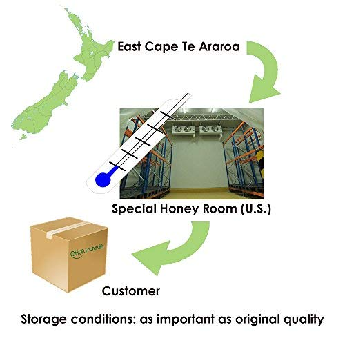 East Cape Te Araroa Premium Manuka Honey UMF Certified 15+-MGO 668 (Small)