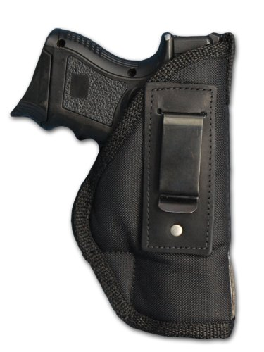 Nylon Laser (Barsony Concealment IWB Holster for Shield Laser Max Centerfire left)