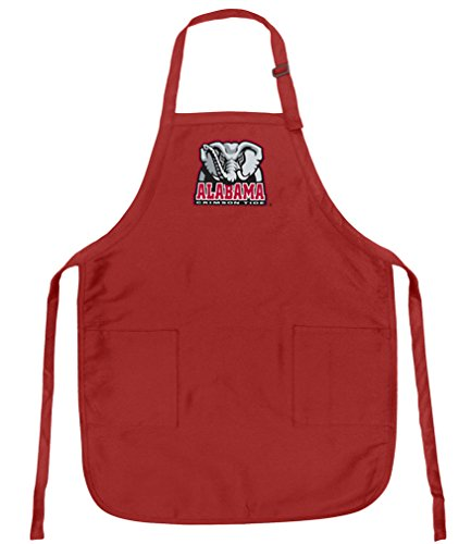 - Alabama Apron OFFICIAL UA TOP RATED FULL SIZE Adjustable Neck with Pockets