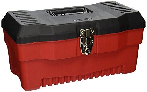 Stack-On PR-16 16-Inch Multi-Purpose Tool Box, Black/Red - Nickel Tool Box