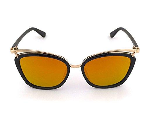 Heartisan Special Full Frame Anti-UV Flash Mirror Unisex Sunglasses - Sunglasses Round 21 Forever