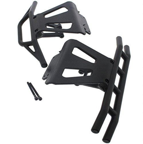 Losi LST XXL 2 FRONT & REAR BUMPERS & BRACES chassis bulkhead body mount by Team Losi