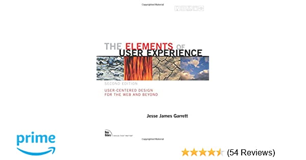 The Elements of User Experience: User-Centered Design for