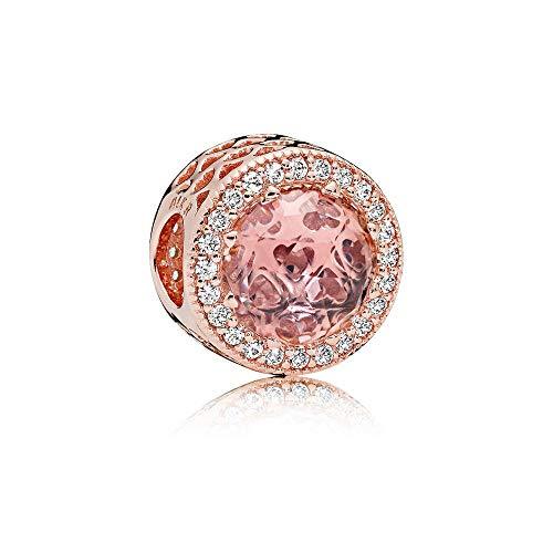 Pandora Rose Blush Pink Radiant Hearts Charm 781725NBP ()