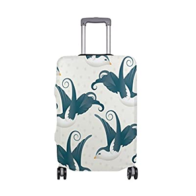 Suitcase Cover Hello Summer Sea Luggage Cover Travel Case Bag Protector for Kid Girls