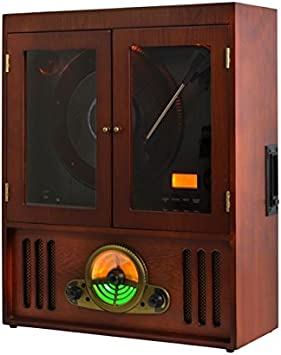 Tocadiscos Vertical RETRO33-45-78 Revoluciones TT-40 de Majestic ...