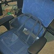 Amazon.com: Silla ergonómica giratoria, de malla ...