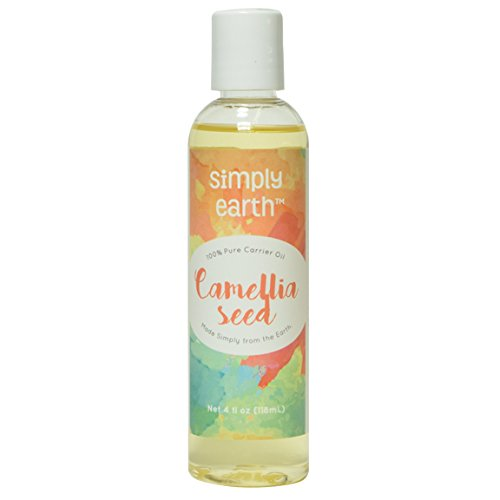 Simply Earth's 100% Pure Camellia Seed Oil - 4 oz