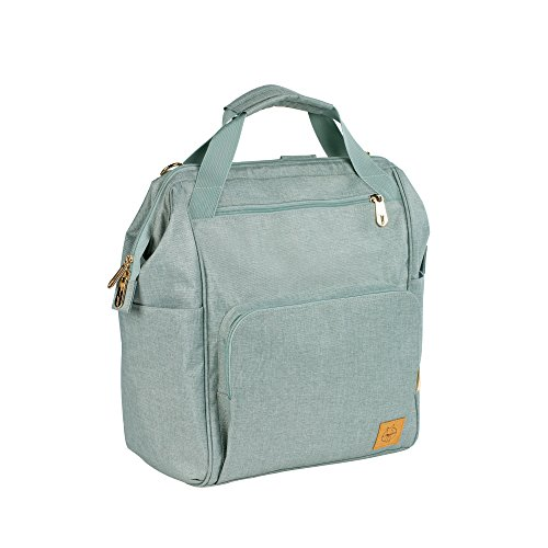 Lassig Women's Glam Goldie Backpack Baby Diaper Bag - Mint by Lassig