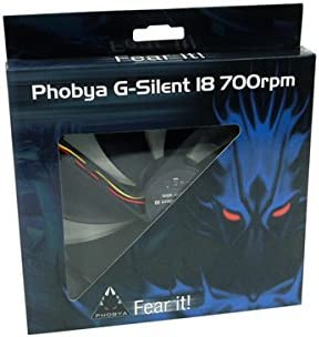180/ x 25/ x 180/ mm / Component Phobya G-Silent 18/ Black 700rpm 180/ x 180/ x 25/ Tower Complete Another/