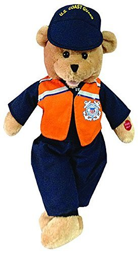 American Teddy Bear (Chantilly Lane American Heroes Coast Guard Bear #262)