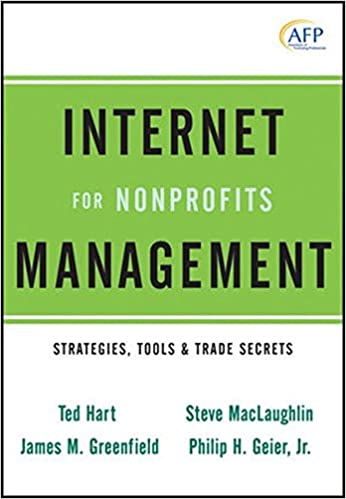 Internet Management for Nonprofits: Strategies, Tools and Trade ...