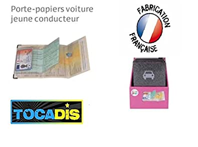 TOCADIS Porte Papier Voiture Jeune CONDUCTEURPailletteTop Vente - Porte papier voiture
