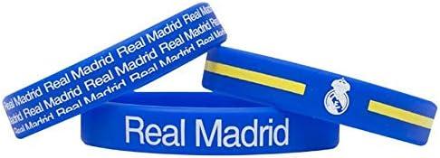 Team Crest Assorted Bracelet Bands Real Madrid Set of 3