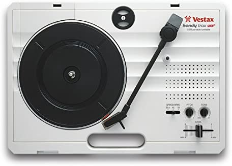 Amazon.com: Vestax Handy Trax portátil USB Turntable W/USB ...
