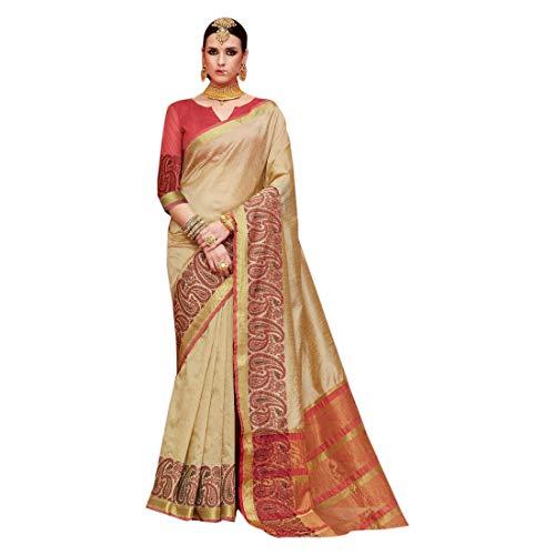 Pakistano Donne Seta Emporium Saree Designer Jari Look Heavy Abito Royal 7341 Puro Etnica Sari Ethnic Indiano Work Per Motif Paisley TFlK1Jc3
