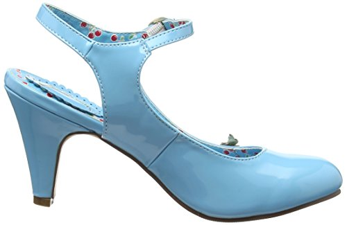 Joe Browns Cherry Baby Patent Shoes - Tacones Mujer Blue (a-pale Blue)