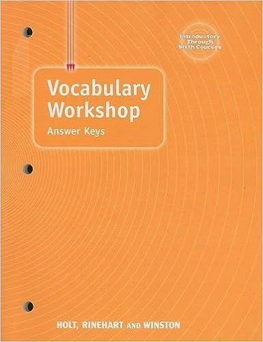 Amazon elements of language vocabulary workshop answer keys amazon elements of language vocabulary workshop answer keys 9780030574160 rinehart and winston holt books fandeluxe Choice Image