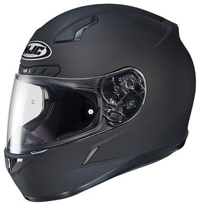 HJC CL-17 Full-Face Motorcycle Helmet (Matte Black, X-Small)