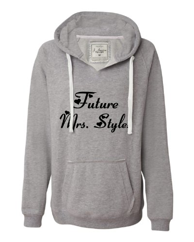 Large Oxford Womens Future Mrs. Styles Deluxe Soft Fashion Hooded Sweatshirt Hoodie