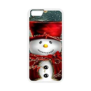 Case Cover For Apple Iphone 6 Plus 5.5 Inch Christmas Phone Back Case Personalized Art Print Design Hard Shell Protection FG067937
