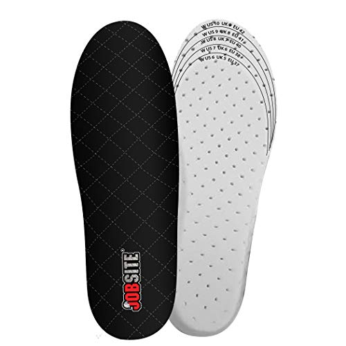 Thermal Boot Liners - JobSite Warm Feet Thermal Insoles - 3M Thinsulate Insulation - Men 8-13 - 1 Pair