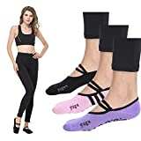 Grip Barre Socks Barre Pilates Socks Yoga Grip Non Slip Skid Ballet Socks Woman