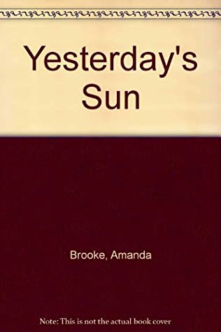 book cover of Yesterday\'s Sun