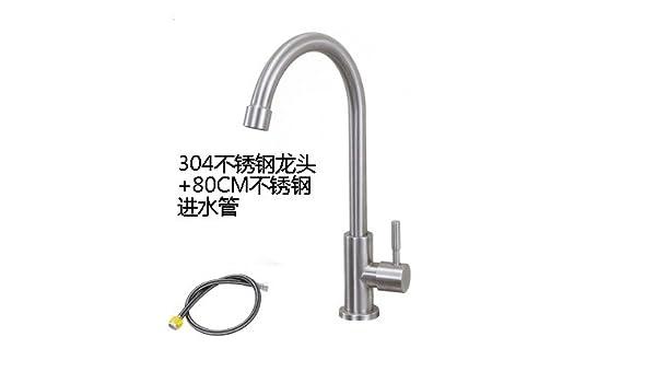 Gyps Faucet Kitchen Faucet Handle Inoxidable Lavabo Grifo Frío ...