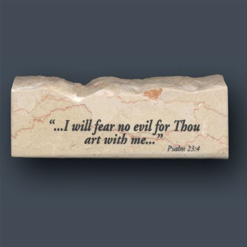Wholesale Inspirational Plaques (Psalm 23 stone)
