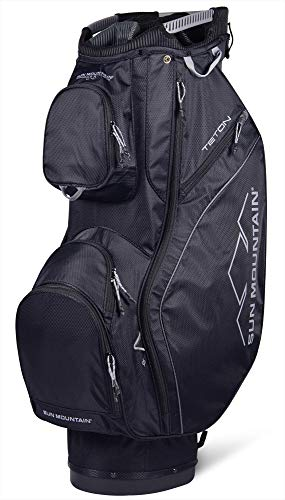 Sun Mountain 2019 Teton Cart Bag Black/Black