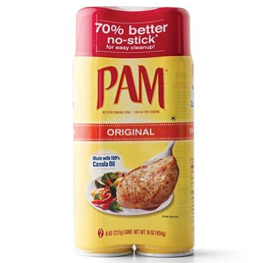 PAM No-Stick Cooking Spray - 2/8 oz. cans (pack of 6) by PAM