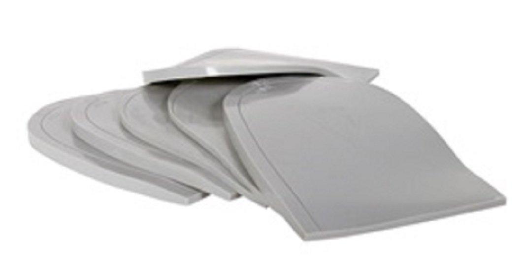 Heel Wedge Pads 8 Degrees Post, (2 Per Pack Large)