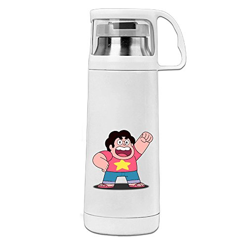 [HAULKOO Steven Universe Stainless Steel Insulation Cup] (Garnet Cosplay Costume)
