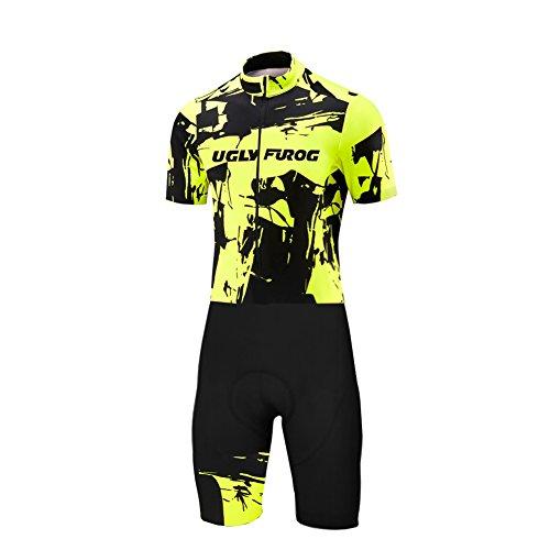Uglyfrog Cycling Jersey Skinsuit Kit Shorts Sports Bodies Triathon DL1