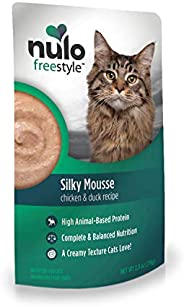 Nulo FreeStyle Cat Food Mousse, Pack of 24 Pouches - Nutritious, Delicious Wet Cat Food with Silky Texture - H