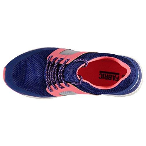 Stoff Bounce Runner turnschuhe Damen Kobalt/Koralle Sneakers Sport Schuhe Schuhe