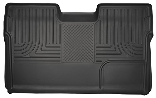 Floor Liner Row (Husky Liners 2nd Seat Floor Liner (Full Coverage) Fits 09-14 F150 SuperCrew)