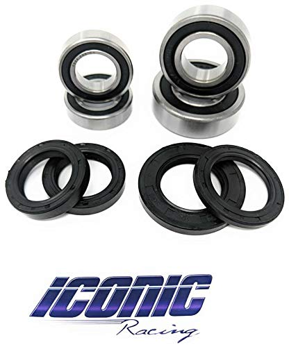 Yamaha YZ125 YZ250 YZ250F YZ450F BOTH Front and Rear Wheel Bearings and Seals Kit OEM