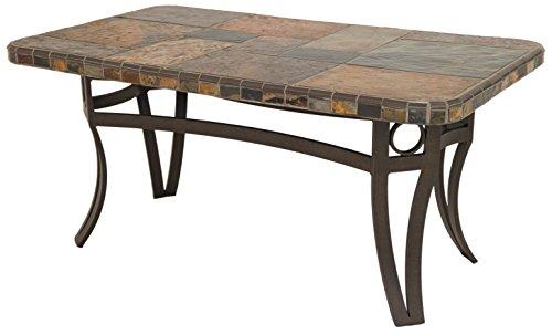 Rectangular Cocktail Series (Impacterra  7000 Series Rectangular Coffee Table, Bronze/S-Slate)