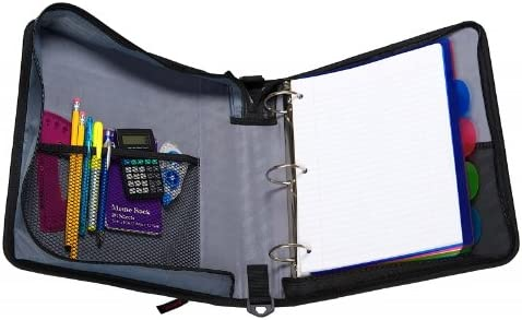 2-Inch 2-Inch Capacity Purple The Classic 3-Ring Binder Case-It