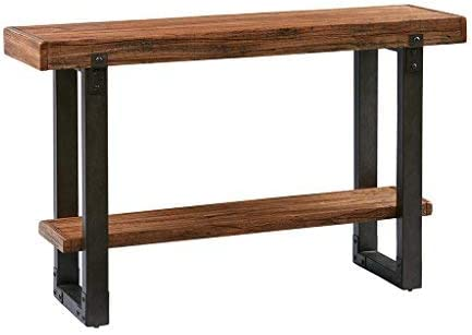 Madison Park Console Table Dayton Chestnut