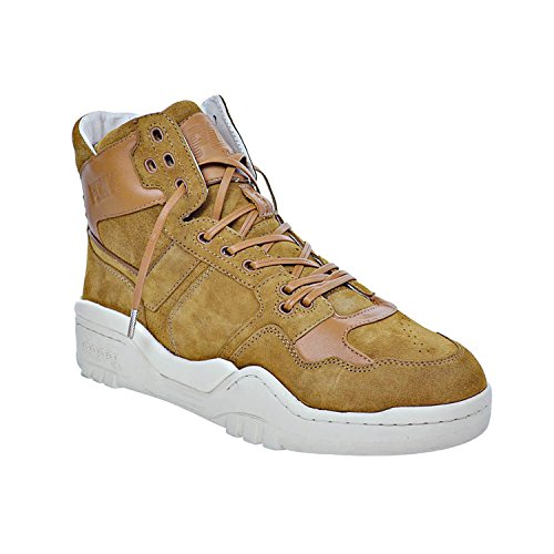 brw Shoes 0710001 PONY Mens M Nubuck Dark 110 Camel q78vwH