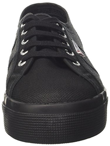 Full Black Donna Superga 2730 Sneaker cotu WzqaIpUX