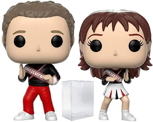 Funko Pop! TV: Saturday Night Live - SNL Spartan Cheerleaders 2-Pack Vinyl Figure (Includes Pop Box Protector Case)