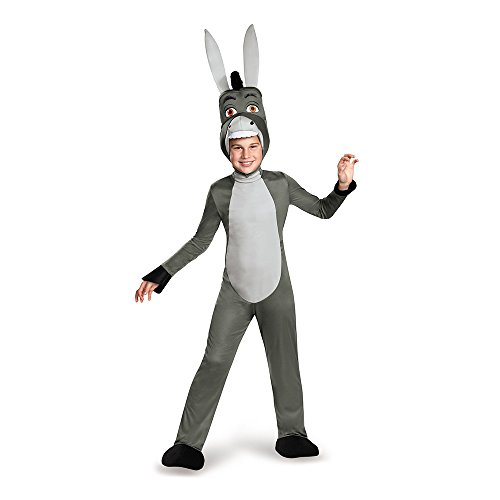 Donkey Deluxe Costume, Medium (7-8) -